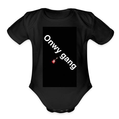 Oneway merch - Organic Short Sleeve Baby Bodysuit