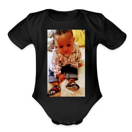 20180515 080727 - Organic Short Sleeve Baby Bodysuit