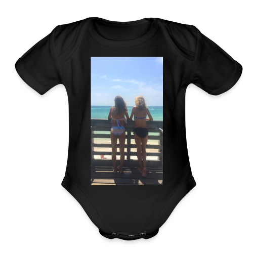 0154644A 1FE0 403D 8380 E54F2DD7B500 - Organic Short Sleeve Baby Bodysuit