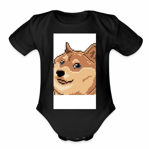 D7BD12F0 AC5B 40B4 8F14 557D9DC0220C - Organic Short Sleeve Baby Bodysuit