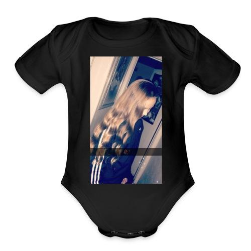 8416B2C3 BF6F 4F1B 8C1B 79B7449D6FCC - Organic Short Sleeve Baby Bodysuit