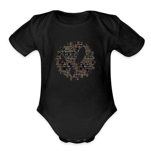 Ed Splatter - Organic Short Sleeve Baby Bodysuit