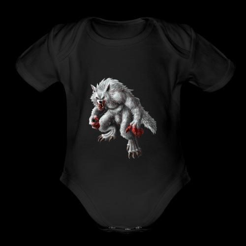 WerewolfGaming - Organic Short Sleeve Baby Bodysuit