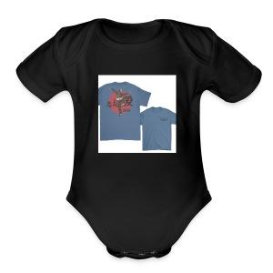 Kung Fu Kenny - Short Sleeve Baby Bodysuit