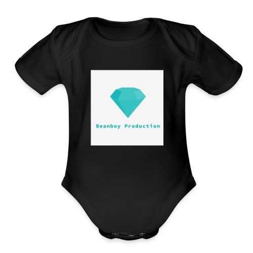 Beanboy production - Organic Short Sleeve Baby Bodysuit