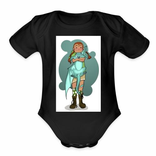 Fledglings - Organic Short Sleeve Baby Bodysuit
