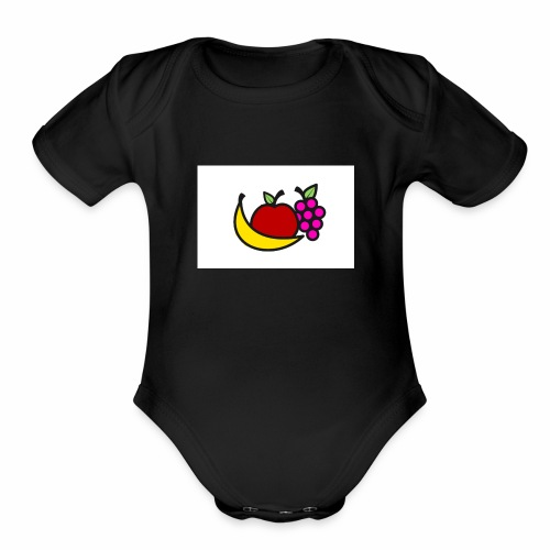 Fruitshirt. - Organic Short Sleeve Baby Bodysuit