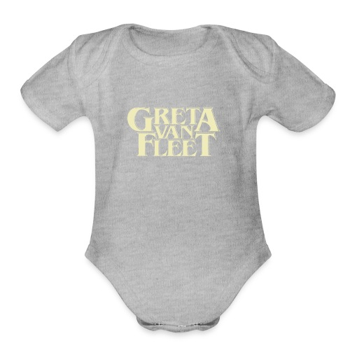 band tour - Organic Short Sleeve Baby Bodysuit