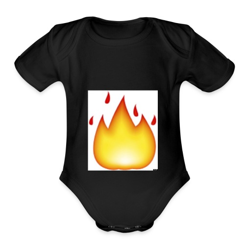 o FLAME 570 - Organic Short Sleeve Baby Bodysuit