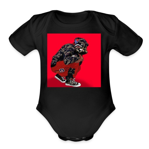 Supreme uban - Organic Short Sleeve Baby Bodysuit