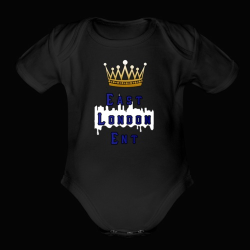 East London Ent! - Organic Short Sleeve Baby Bodysuit