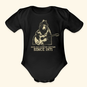 Good Old Country Rhythm - Short Sleeve Baby Bodysuit