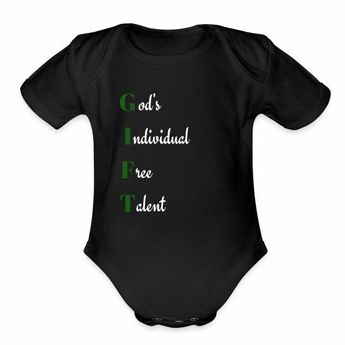 GIFT - Organic Short Sleeve Baby Bodysuit