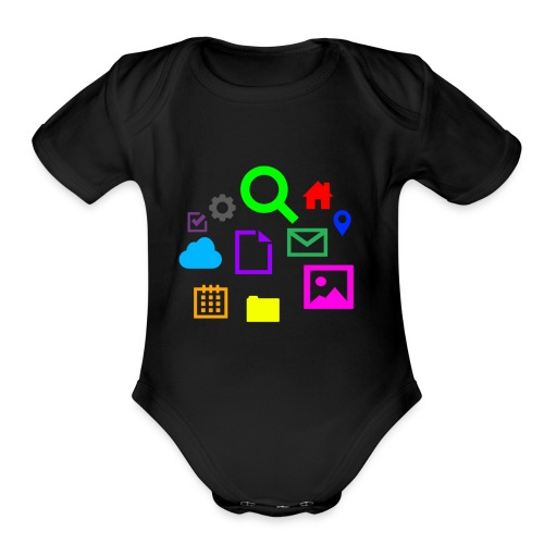 Internet - Organic Short Sleeve Baby Bodysuit