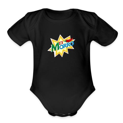 LOGO MEXMORRO - Organic Short Sleeve Baby Bodysuit