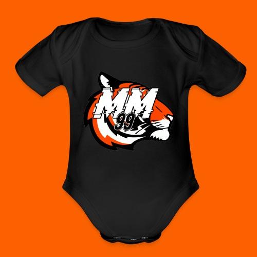 the OG MM99 Unltd - Organic Short Sleeve Baby Bodysuit