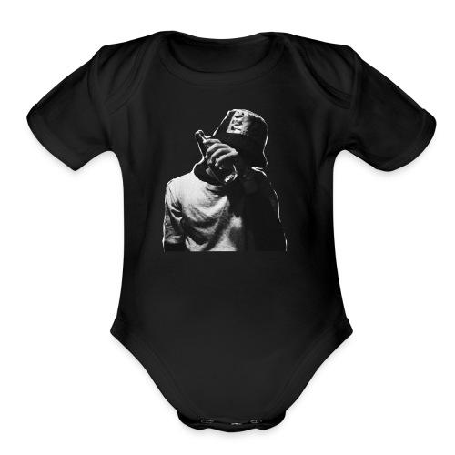Drunken dude - Organic Short Sleeve Baby Bodysuit