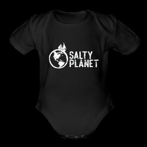 Salty Planet - Short Sleeve Baby Bodysuit