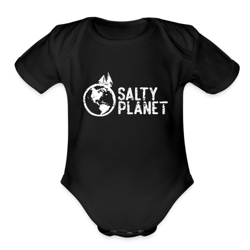 Salty Planet - Organic Short Sleeve Baby Bodysuit