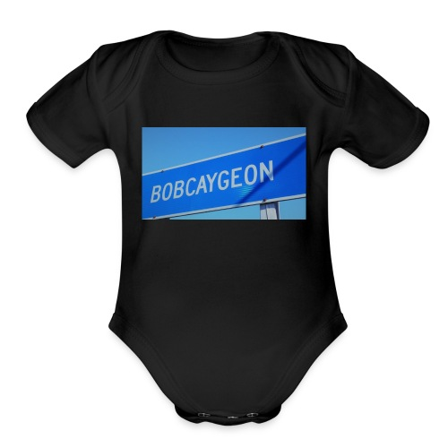 BOBCAYGEON - Organic Short Sleeve Baby Bodysuit