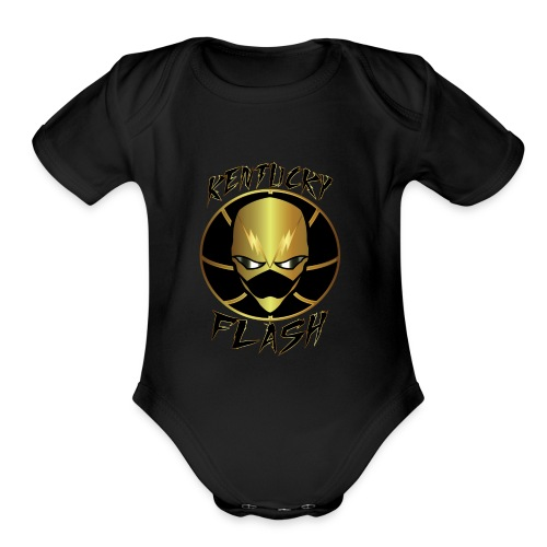 Flash store - Organic Short Sleeve Baby Bodysuit