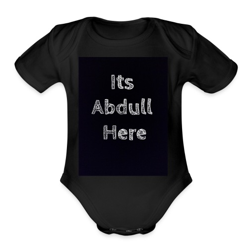 Abdull - Organic Short Sleeve Baby Bodysuit