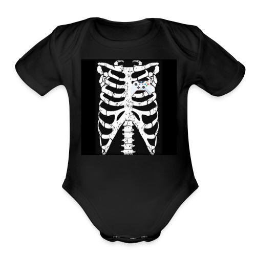 October 2018 gaming merch - Organic Short Sleeve Baby Bodysuit