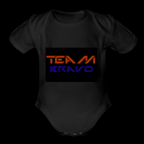 Team Bravo - Organic Short Sleeve Baby Bodysuit