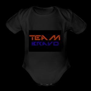 Team Bravo - Short Sleeve Baby Bodysuit