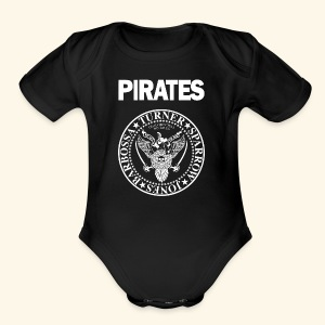 Punk Rock Pirates [heroes] - Short Sleeve Baby Bodysuit