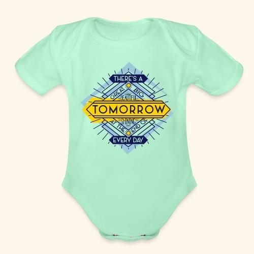 Carousel's Promise - Organic Short Sleeve Baby Bodysuit