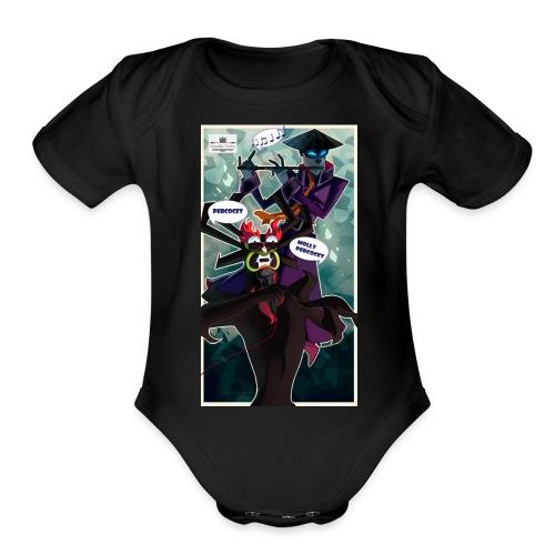 Persocet Molly Persocet - Organic Short Sleeve Baby Bodysuit