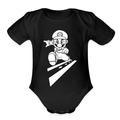 super1 - Organic Short Sleeve Baby Bodysuit