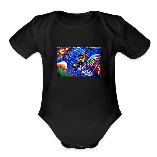 Funky - Organic Short Sleeve Baby Bodysuit
