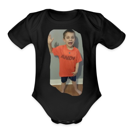 Jasons merch shop - Organic Short Sleeve Baby Bodysuit