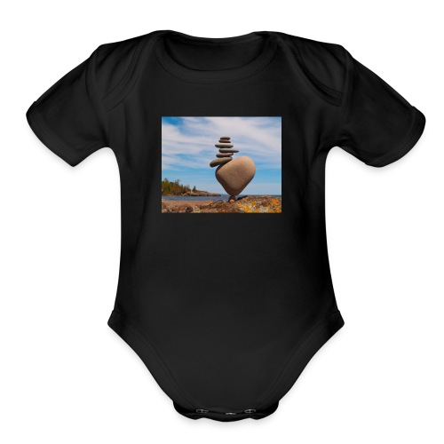 LittleRock - Organic Short Sleeve Baby Bodysuit