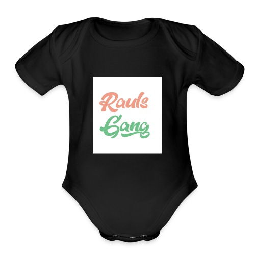 Rauls Gang T-Shirt - Organic Short Sleeve Baby Bodysuit