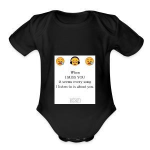 Phone Case! - Short Sleeve Baby Bodysuit