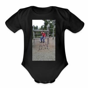 Jonathan - Short Sleeve Baby Bodysuit