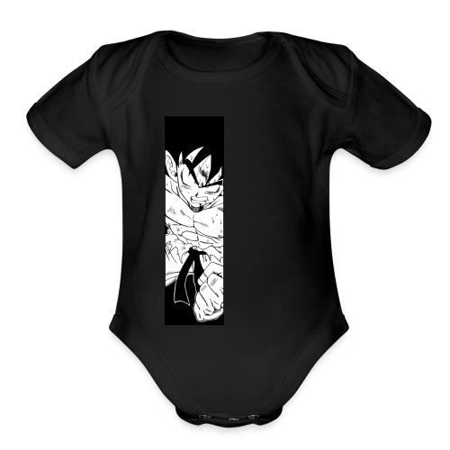 Goku Spirit - Organic Short Sleeve Baby Bodysuit