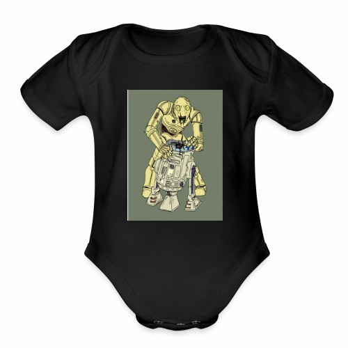 IMG 20170702 160942 578THE DROID - Organic Short Sleeve Baby Bodysuit