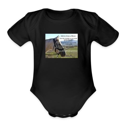 IMG 5485 - Organic Short Sleeve Baby Bodysuit