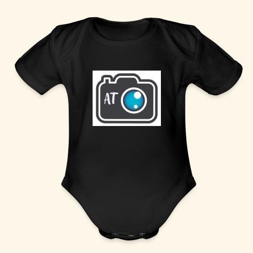 Aspiring Thoughts - Organic Short Sleeve Baby Bodysuit