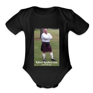 Kilted Realtor - Short Sleeve Baby Bodysuit
