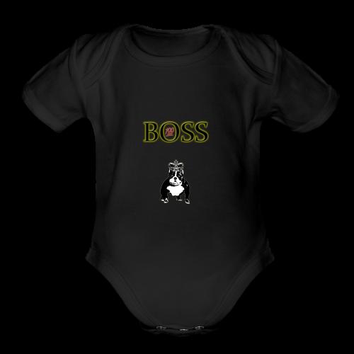 Boss Dog - Organic Short Sleeve Baby Bodysuit
