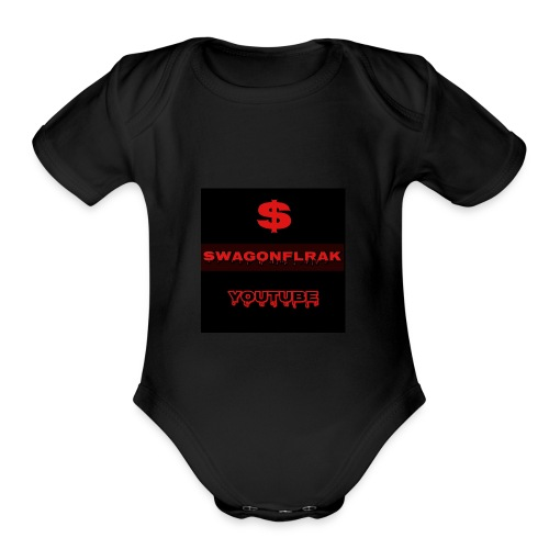swagonfleak123 - Organic Short Sleeve Baby Bodysuit