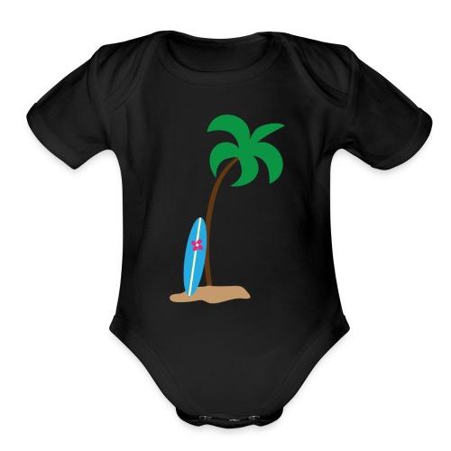 Cali - Organic Short Sleeve Baby Bodysuit