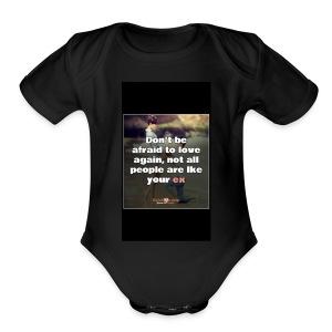 Junkie Fit - Short Sleeve Baby Bodysuit