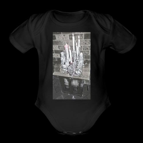 Altar - Organic Short Sleeve Baby Bodysuit