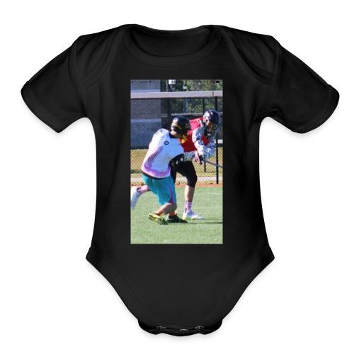 Ethan - Organic Short Sleeve Baby Bodysuit